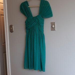 BCBG Generation Teal Green Dress